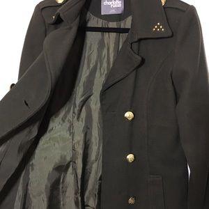 F21 | Military Pea Coat